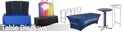 trade show tabletop displays
