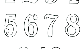 Numbers Coloring Pages Pdf Numbers Coloring Pages Coloring Pages