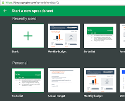 Psa Google Sheets Has Monthly And Annual Budget Templates