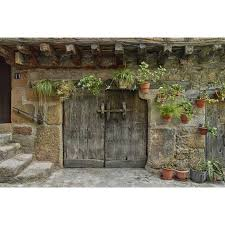 panoramic images stretched canvas art typical traditional wooden front door san martin de trevejo on typical wall art size with panoramic images stretched canvas art typical traditional wooden