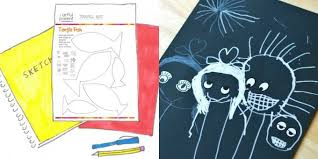 creative drawing ideas for kids activity sheets