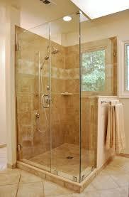 shower unit barn door tub enclosures frameless glass handles walk screens seamless frosted corner shelf full