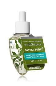 how do bath and body works wallflowers work stress relief eucalyptus spearmint wallflowers fragrance bulb