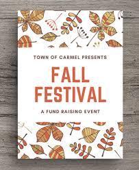 Fall Festival Flier 40 Fall Festival Ideas Canva