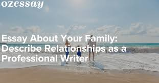 essay about your family