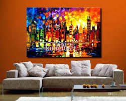 oil painting awesome design collection for extra large canvas wall art purple toned