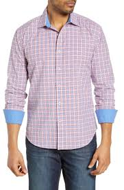 Bugatchi Shaped Fit Shirt Nordstrom