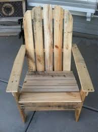 Wooden chairs for garden