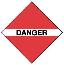 Image result for Image danger mark crossbones with skull