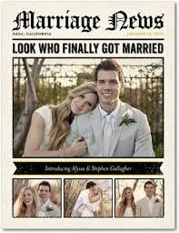 Announcement Postcards Wedding Announcement Postcards Loverly