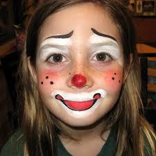 Girl Clown Face Designs Clown Facepainting Face Painting Designs Face Paint