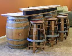 wine barrel bar plans. Bars Wine Barrel Bar Plans E