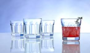 cobalt blue water glasses anchor hocking cobalt blue tall paneled