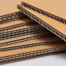 kraft paper agro paper and duplex board double wall corrugated sheet