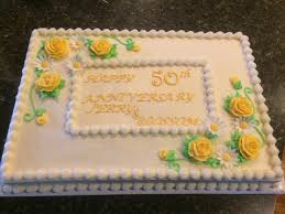 50th Anniversary Cupcake Decorations Anniversary Cakes Buttercream This Cake Is Iced And Decorated In