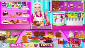 barbie cooking games and dress up gameake up games new barbie cooking games