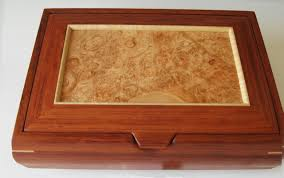 Decorative Wood Boxes With Lids Handmade Jewelry Box Mens Valet Box or Ladies' Earring Jewelry Box 31