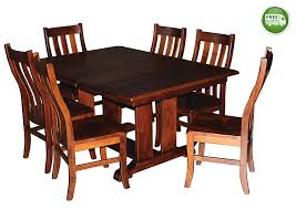 Amazoncom Aspen Tree Interiors Solid Wood Heirloom 9 Piece Dining