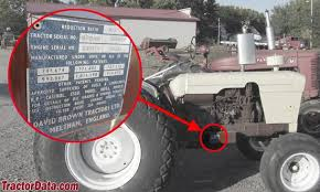 tractordata com david brown 885 tractor information photo of 885 serial number