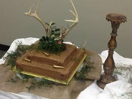 12 Deer Hunting Grooms Cakes Photo Deer Hunter Groom Cake