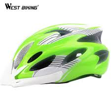 west biking bicycle helmet cycling guards integrally flip calm molded keel insect net skeleton head cir 56 62cm cycling helmet