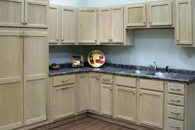 unfinished kitchen cabinets oak