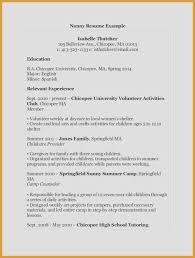 Resume Samples Skills Beautiful High School Resume Sample Format