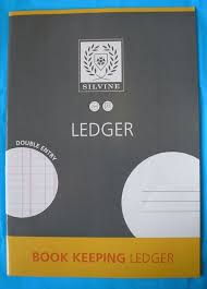 Bookeeping Ledger Silvine Bookkeeping Ledger Accounts Book 32 Page A4 On Popscreen