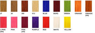 Wig Color Chart Its A Wig Color Charts
