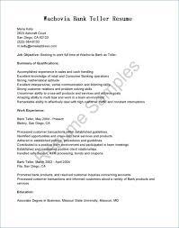 Entry Level Banking Resumes Entry Level Bank Teller Resume Elegant Resume Examples Bank Teller