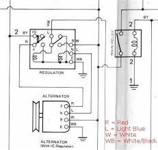 external regulator alternator wiring diagram Alternator Regulator Wiring Diagram tech engine k series alternator rollaclub alternator voltage regulator wiring diagram
