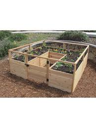 cedar raised garden bed kit raised beds