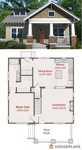Bungalow Plan Design Ideas Exciting Small Craftsman Bungalow Floor Plan And Elevation
