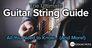 Guitar String Size Chart Guitar Strings Guide All You Need To Know And More