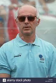 ARRIGO SACCHI italienischer MANAGER 30. Januar 1996 Stockfotografie - Alamy