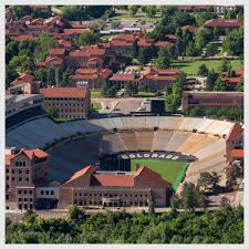 Cu Folsom Field Seating Chart Colorado Buffaloes Gameday Maps University Of Colorado