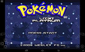 Pokemon Light Platinum Free Download For Visual Boy Advance Gba4ios Pokemon Light Platinum Gba Pokemon Nintendo