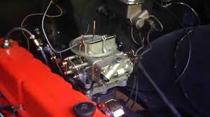 1968 Chevy C10 Inline 6-250 Carb upgrade Install: Holley 350 CFM 2 ...
