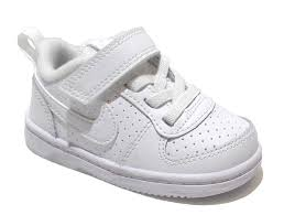 details about trainers shoes sports velcro white boys leather lining girls kids sneakers train