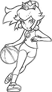 Inspiration Coloriage Basket Fille Gratui S Dessin Coloriage Basketball Fille L