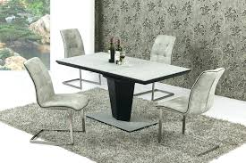 small glass dining tables and chairs round glass table and chairs