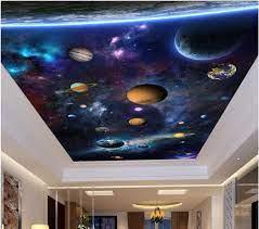 Custom photo 3d ceiling murals ...