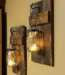 decorative wall sconces holder candle holders awesome rustic residence pertaining to uk
