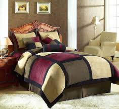 brown velvet duvet cover 5 pc multicolor square style queen velvet duvet cover set cbwb xmas