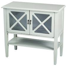 lovable console cabinet with glass doors houzz heather ann creations 2 door console cabinet with