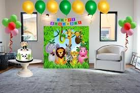 jungle theme birthday box