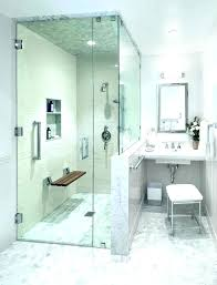 walk in shower with bench bathroom seating bench showers glass shower seat bench in block bathroom