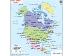 continent of america map. Unique Continent North America Continent Map In Continent Of America Map