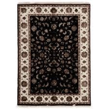 bennie hand knotted narayan indian fine wool art silk rug temple webster