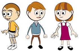 Vector Cartoon Children Illustration Download Free Vector